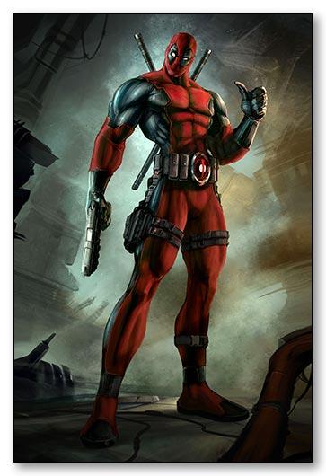 Магнитная картина Deadpool / Дэдпул